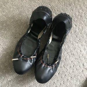 Leather Tod's Ballerina Flats EUC 39